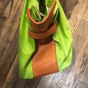 kate spade Bags - Kate Spade Green and brown shoulder bag